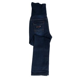 Bella Vida Boot cut Maternity Jeans Dark Wash Sz M